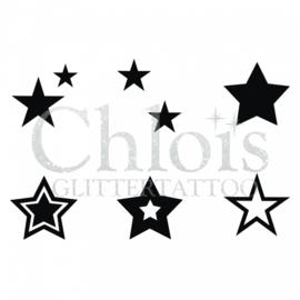Chloïs stars (multi stencil 6)