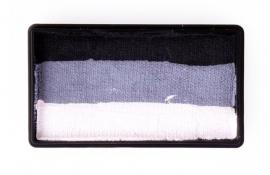 PXP 28 gram splitcake black | grey | white