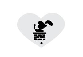 Mini stencil S&P piet schoorsteen