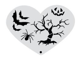 Stencil halloween