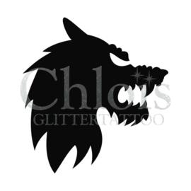Sjabloon weerwolf (5 stuks)