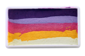 PXP 28 gram splitcake dark purple | light purple | pink | yellow | white