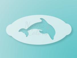N4C sjabloon Dolfijn