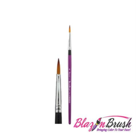 Blazin Brush penseel rond nr. 4 - limited edition.