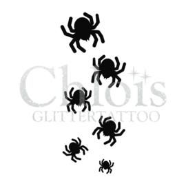 Sjabloon spinnen (5 stuks)