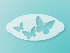 N4C sjabloon Vlinders