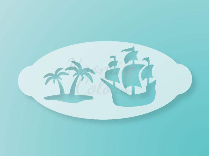 N4C sjabloon Piratenschip