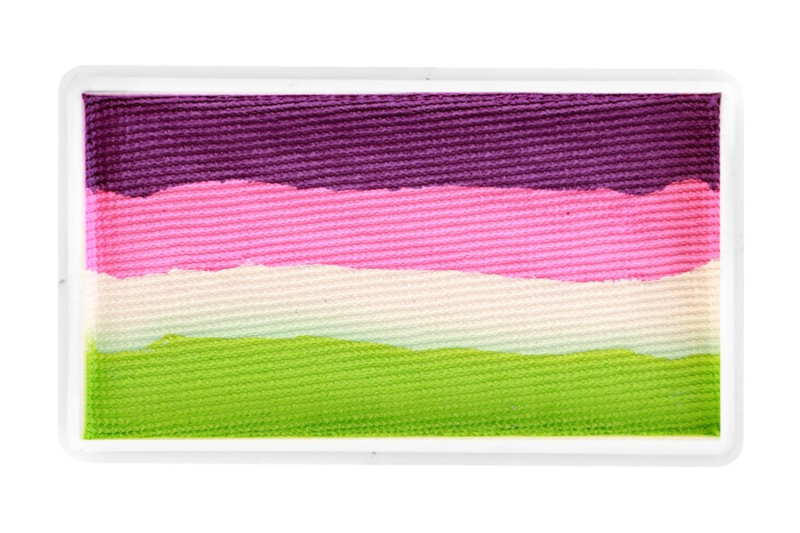 PXP 28 gram splitcake orchid | pink candy | white | lime green