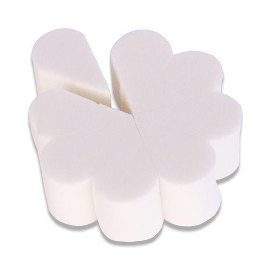 Latex spons bloem (8 puntjes)