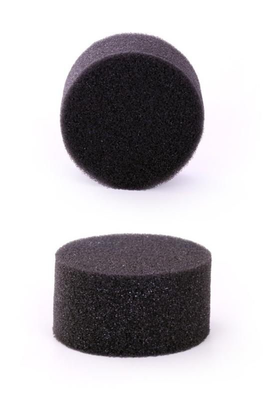 Schminkspons zwart (ecologisch)