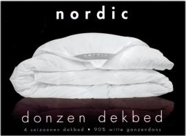 Ducky Dons Nordic 4 seizoenen dekbed - 90% eendendons
