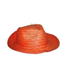 Strohoed oranje