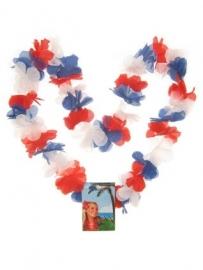 Hawaii slinger rood wit blauw Holland
