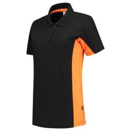 Tricorp Poloshirt Bicolor dames 202003 met bedrukking
