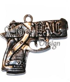 Bedel/hanger pistool