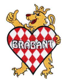 """Brabant embleem """"Brabant met leeuw"""""""