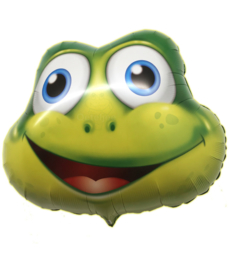 Folie ballon Kikker