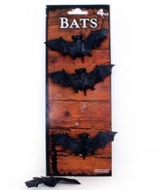 Vleermuizen zwart per 4