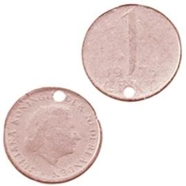 DQ Bedel munt 1 cent Champagne rose
