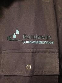 Borduren overalls en fleece vesten  Boudewijn Autowastechniek