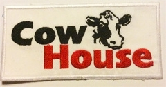 Borduren badge Cow House
