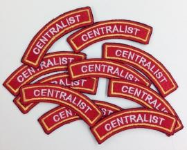 Borduren emblemen brandweer centralist