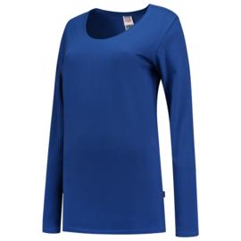 Tricorp T-shirt lange mouw dames 101010 met bedrukking