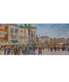 Ansichtkaart Oeteldonk Markt - 1