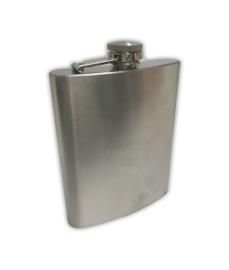 Oeteldonk heupfles/flacon RVS 320 ml