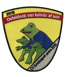 Borduren emblemen CV Ketskapot 2018