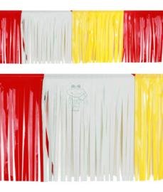 Oeteldonk PVC slierten slingers (6 meter / 30 cm)
