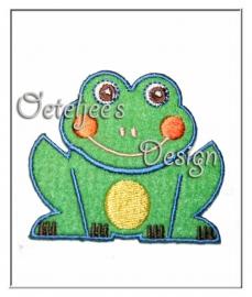 Oetelbadge - Oeteldonkse kleuren kikker