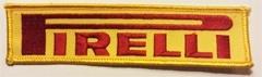 Borduren badge Pirelli