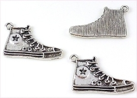 Bedel - Sneaker Oudzilverkleur metaal