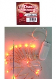 Oranje LED verlichting snoer