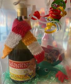 Cadeaupakket wijnen wijn, kikkertje en embleem