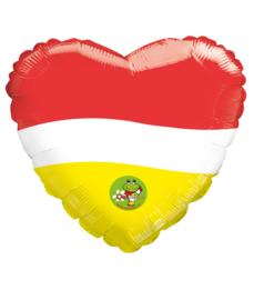 """Oeteldonk folie ballon """"From Oeteldonk with love"""""""