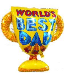 Folie ballon World's best dad