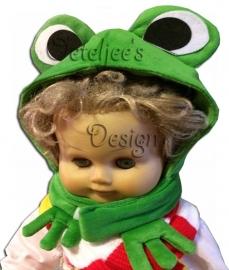 Kikkermuts groen Oeteldonk