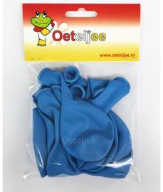 Ballonnen set blauw 10 stuks