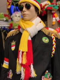 Oeteldonkse sjaal / das grof gebreid