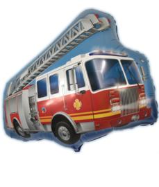 Folie ballon brandweerauto