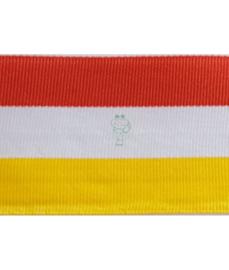 Ribsband Oeteldonk rood wit geel