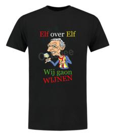 """Oeteldonk shirt """"Elf over Elf, Wij gaon wijnen"""" heren"""
