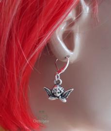 Oorbellen met engeltje