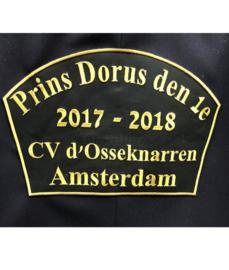 Borduren embleem CV d'Osseknarren Amsterdam