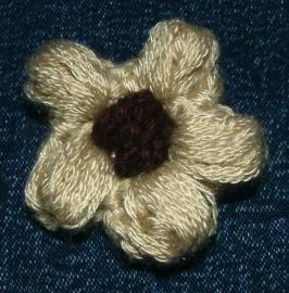 Applicaties - Beige-bruine bloem