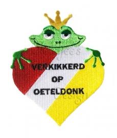 "Carnavalsembleem ""Verkikkerd op Oeteldonk"""