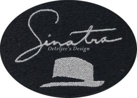Borduren emblemen met signature Frank Sinatra