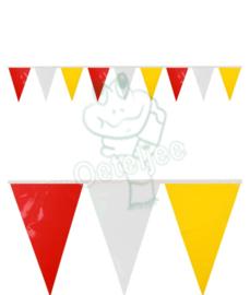 Oeteldonk pvc mini vlaggenlijn/slingers